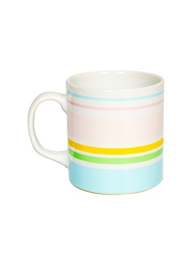 Rakle 320 cc Colorful Line Mug Renkli